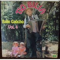 Lp Tio Bilia Baile Gaúcho Vol.4(frete Grátis)