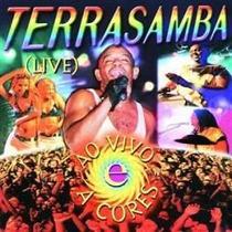 Cd Terrasamba - Ao Vivo E A Cores (original 1998)