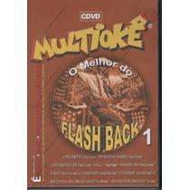 Dvd Multiokê - O Melhor Do Flash Back - 1 - Novo***
