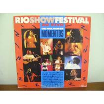 Disco Vinil Lp Rio Show Festival - 1981 - Elba Ramalho Alceu