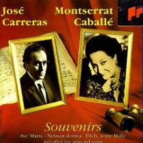0919 - Cd Jose Carreras & Montserrat Caballe - Souvenirs F.g