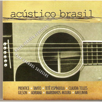 Cd Acústico Brasil - Fim De Tarde ( Claudia Telles ) - Novo*