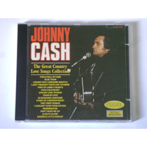 Cd Johnny Cash The Great Love Songs Collection Importado