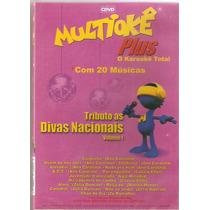 Multiokê - Tributo As Divas Nacionais Vol 1 - Novo