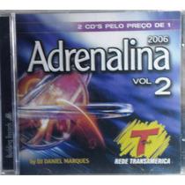 Dance Funk Disco Pop Cd Adrenalina 2006 Vol 2 Lacrado Raro
