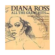 Diana Ross - All The Great Hits - Novo - Cd