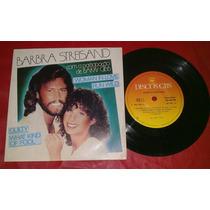 Barbra Streisand Vinil Compacto Promo Amostra Cbs Invendável