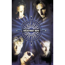 Dvd Backstreet Boys Around The World [eua] Novo Lacrado