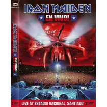 Dvd Iron Maiden - En Vivo! (duplo)