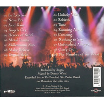Cd Angra - Rebirth World Tour Live In Sao Paulo
