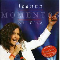 Cd Joanna - Momentos Ao Vivo = Amanhã Talvez - Amor Bandido