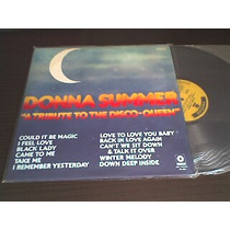 Lp Donna Summer - Tribute To The Disco - Queen