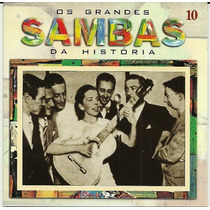 Os Grandes Sambas Da História Vol. 10 Noel Rosas Beth Carval
