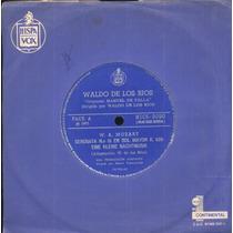 Waldo De Los Rios Compacto De Vinil Serenata No.13 En Sol Ma