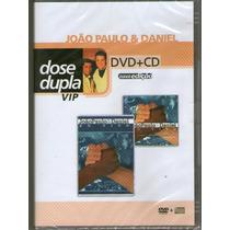 Dvd - João Paulo & Daniel - Dvd + Cd - Novo***