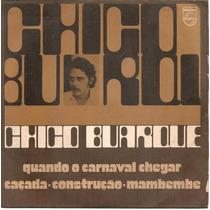 Lp Chico Buarque - Lp 33 1/3 (1972)- Usado- Raridade !!