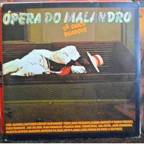 Lp Chico Buarque - Ópera Do Malandro - Com Encarte - Duplo.