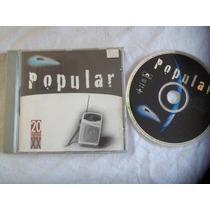 * Cds - Popular - 20 Músicas Dos Anos X X - Mpb Cantores