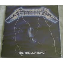 Metallica Ride The Lightnig Lp Selado Made Europe Blackened