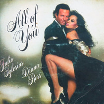 Julio Iglesias & Dianna Ross All Of You Compacto Vinil Raro