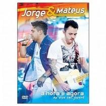 Box Dvd + Cd Jorge E Mateus - A Hora É Agora
