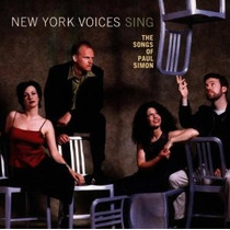 Cd New York Voices New York Voices Sing The Songs Of Paul Si
