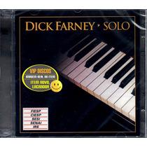 Cd Dick Farney Solo Duplo - Novo Lacrado Raro