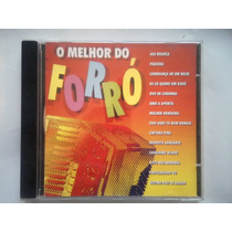 Cd O Melhhor Do Forró