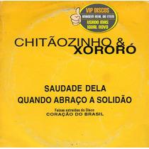 Chitãozinho E Xororó Cd Single 2 Faixas - Raro
