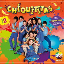 Cd Chiquititas Vol 2 Novo, Lacrado, A Pronta Entrega 13,00