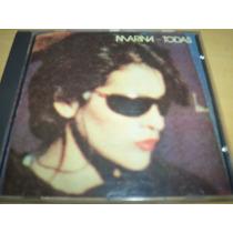 Cd Marina Todas 1985 Com: Eu Te Amo Você E Nada Por Mim