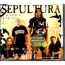 Sepultura Cd Single Choke 3 Faixas - Lacrado