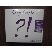 Cd + Dvd Deep Purple - Now What Novo Importado Lacrado