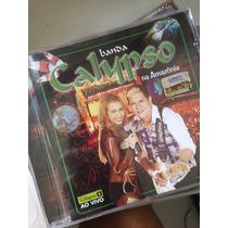 Cd Banda Calypso (na Amazônia) Ao Vivo Original