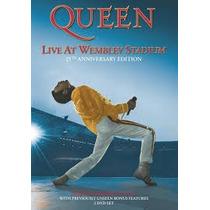 Dvd Queen - Live At Wembley Stadium - 4 Discos - Leg Em Pt