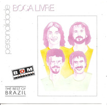 Cd - Boca Livre - Personalidade - The Best Of Brazil - 1994