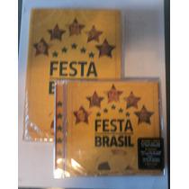 Festa Brasil - Dvd + Cd - Novo * Lacrado ***