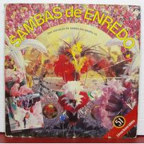Lp Vinil - Sambas De Enredo - Escolas Do Grupo 1a - 1988