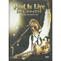 Paul Is Live In Concert - On The New World Tour - Dvd