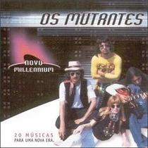 Cd - Os Mutantes - Novo Milennium Original - Novo - Lacrado