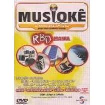 Dvd-musiokê-rbd Mania-karaoke Em Dvd-com Encarte Interno