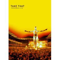 Take That - Progress Live [2dvd] Digipack Uk - Frete Gratis