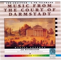 Cd Musica Aeterna Music From The Court Of Darmstadt