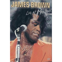 Dvd James Brown - Live At Montreux 1981 * Frete Grátis *