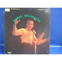 Harry Belafonte Album Duplo Capa Dupla 1974 Importado Usa