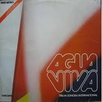 Lp Água Viva - Trilha Sonora Da Novela (internacional)