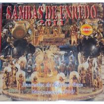 Cd-sambas De Enredo-lesga 2011-acesso-em Otimo Estado