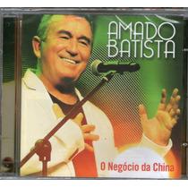 Cd Amado Batista - O Negócio Da China Novo Laçamento 2014***