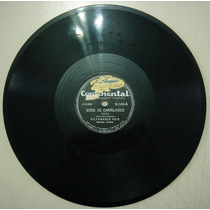 Disco 78 Rpm - Dilermano Reis -continental16.560