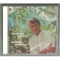 Cd-marcos Valle-samba Demais -1963-ed.2012-02 Bônus-lacrado
